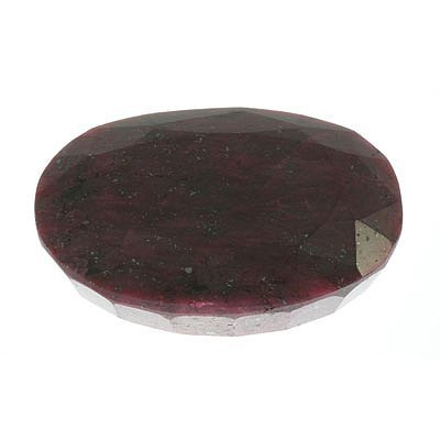 926ctw Natural African Ruby Gemstone - 2