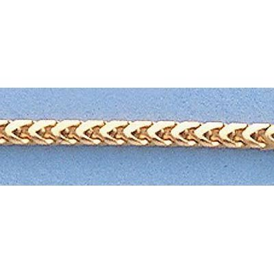 """Pure Gold 16"""" 14k Gold-Yellow 1.6mm Franco Chain 7.0g"""