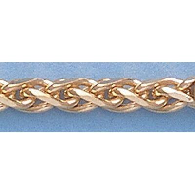 """Pure Gold 16"""" 14k Gold-Yellow 1.1mm Oval Link Chain"""