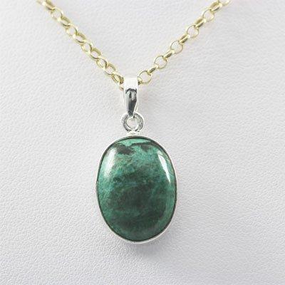 21.5ctw Turquoise Silver Pendant