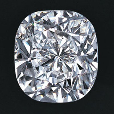 EGL USA 1.01 ctw Certified Cushion Brilliant Diamond H,