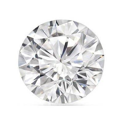 Certified 2 ct Round Brilliant Diamond F,VS2