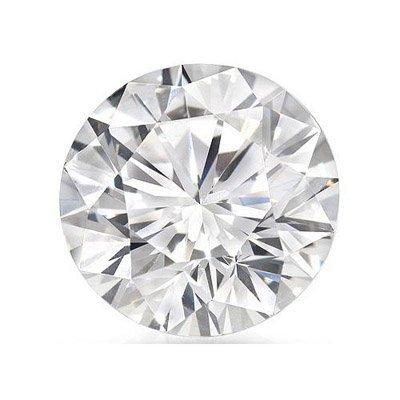 Certified 2.15 ct Round Brilliant Diamond D,SI3