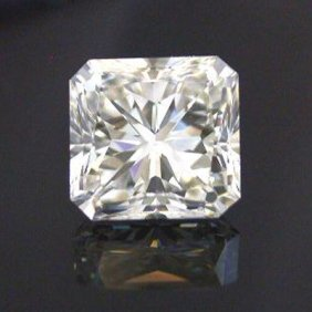 EGL 2.02 Ctw Certified Radiant Diamond H,SI2