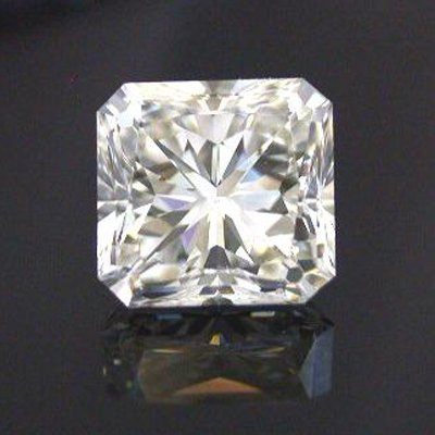 GIA  0.90 ctw Certified Radiant Diamond D,SI2