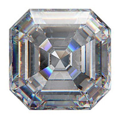GIA 1.00ctw Certified Asscher Brilliant Diamond E,VS1