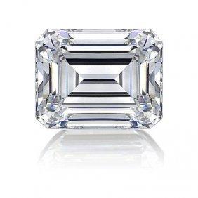 GIA 1.00ctw Certified Emerald Brilliant Diamond F,VS1