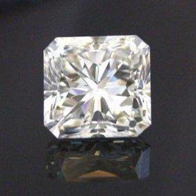 EGL 1.50 Ctw Certified Radiant Diamond G,SI2
