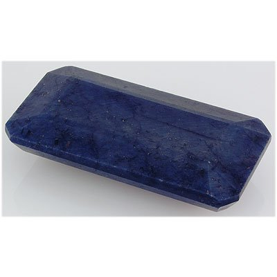 Sapphire 870ct Loose Gemstone 80x40mm Emerald Cut