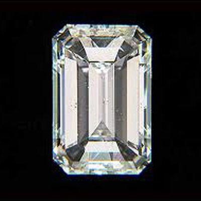 EGL Certified Diamond Emerald 1.01ctw F,SI1
