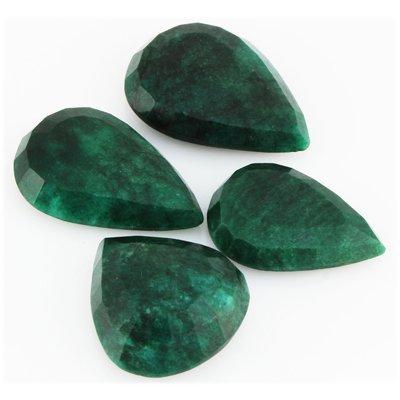 Emerald 535ct Loose Gemstone Mix Sizes Pear Cut - 2
