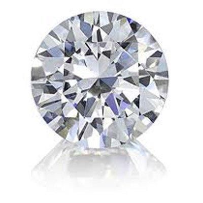 Certified Round Diamond 0.42 ct, F,SI1, EGL ISRAEL