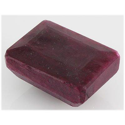 Ruby 436ct Loose Gemstone 45x30mm Emerald Cut