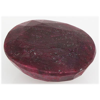 Ruby 281ct Loose Gemstone 40x35mm Oval Cut