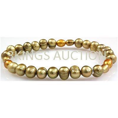 62.98ctw Natural Rice Freshwater Pearls Bracelet
