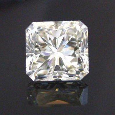 GIA 0.90 ctw Certified Radiant Diamond D,SI2