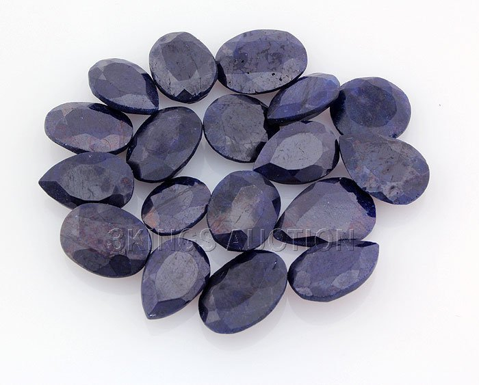Blue Sapphire 144.00ctw MixShape&Sizes LooseGemstone