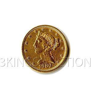 $5 Liberty Jewelry Grade Early Gold Bullion