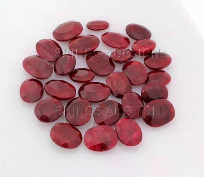 200.50ctw Ruby Oval Cut Loose Gemstone