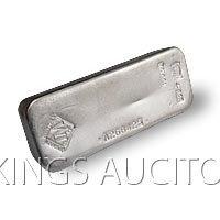 Silver Bars: Johnson Matthey 100 oz Bar .999 fine