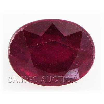 6.07ctw African Ruby Loose Gemstone