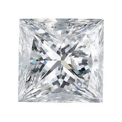 Certified Princess Diamond 0.50 Carat F, SI3 EGL ISRAEL