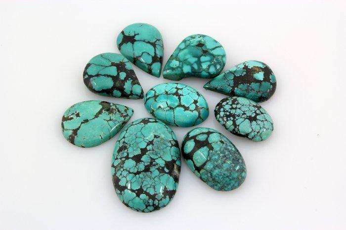 Turquoise 171.72ctw MixShape&Sizes LooseGemstone