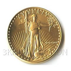 Half Ounce 1986 US American Gold Eagle Uncirculated