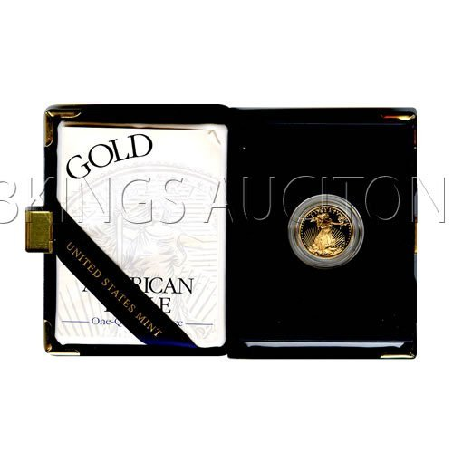 Proof American Gold Eagle Quarter Ounce (Date Of Our Ch