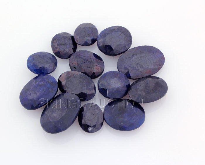 Blue Sapphire 159.62ctw OvalCut LooseGemstone