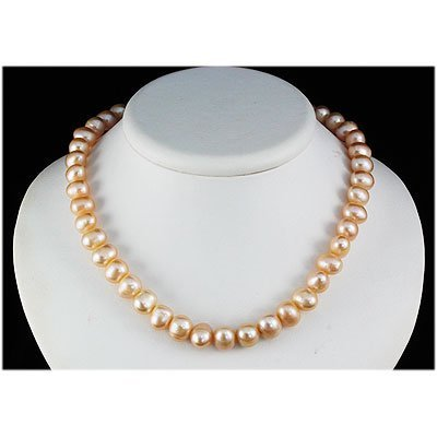 246.62ctw Philippines 10-11mm Freshwater Pearl Necklace