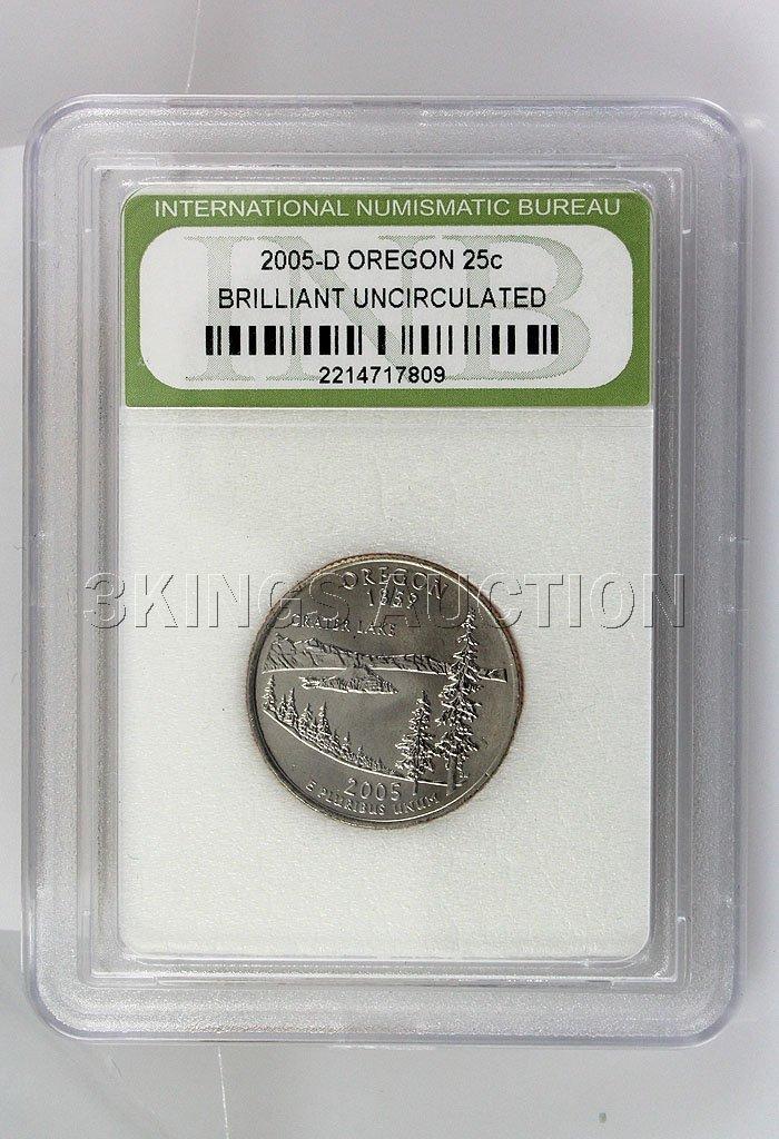 2005-D Oregon 25Cents BU! INB