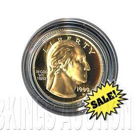 Gold $5 Commemorative 1999 George Washington Proof