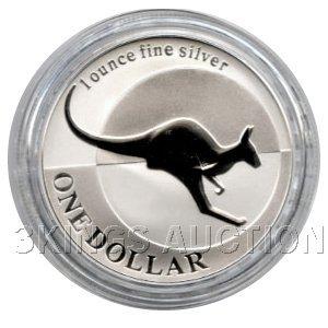 Australian Kangaroo 1 oz. Silver 2004