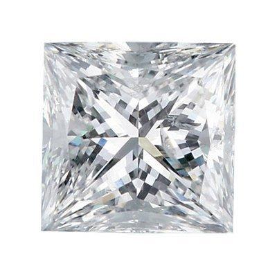 Certified Princess Diamond 1.00 Carat F, VS1 GIA
