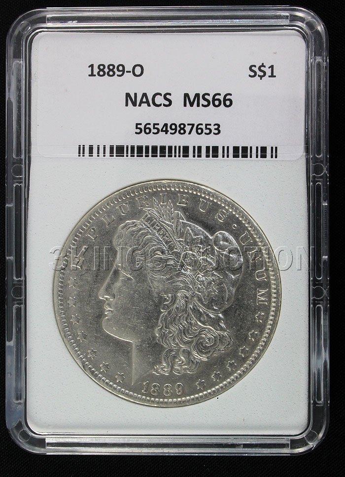 1889-0 Morgan NACS MS66 Rare!