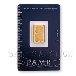 5 Gram Gold Bar Pamp Suisse