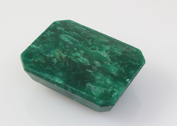 Emerald 119.01 ctw Loose Gem 35.52x27.16mm Emerald Cut