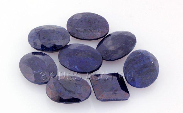 Blue Sapphire 144.27ctw MixShape&Sizes LooseGemstone