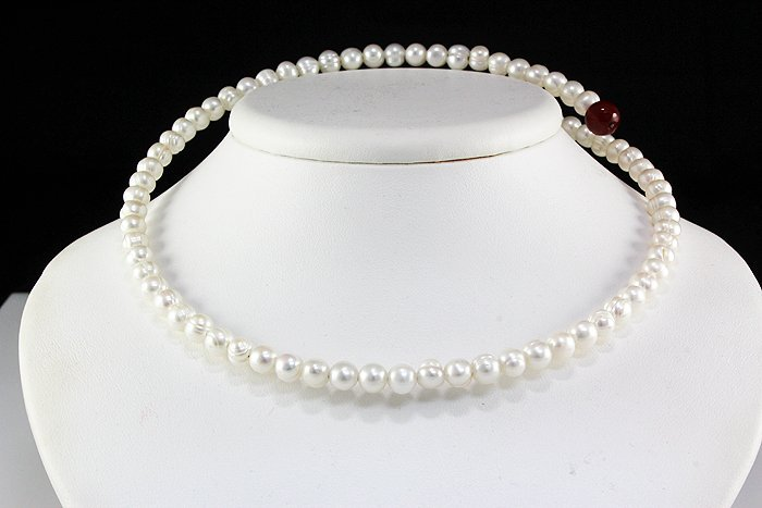 Freshwater Pearl Coil Necklace