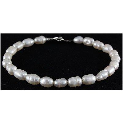 46.65ctw Philippines 8.0inches Rice FW Pearl Bracelet