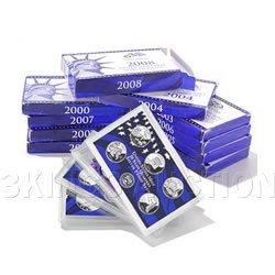Complete Set US Proof Sets 1999-2012 Clad (14 sets)
