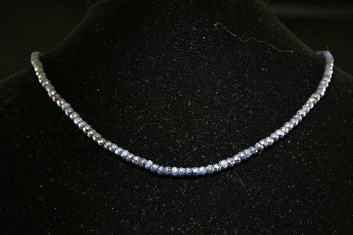 53.00 ctw Amethyst Sterling Necklace