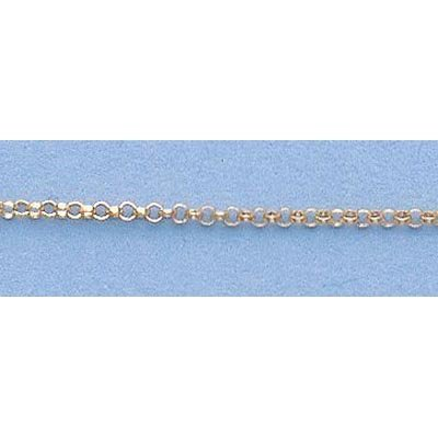 """Pure Gold 16"""" 14k Gold-Yellow 1.2mm Rolo Chain"""