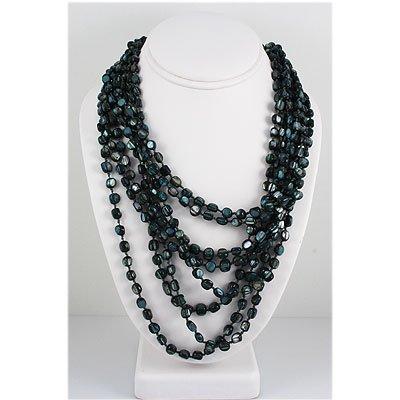 809ct Philippine Native Crystal Granite Topaz Necklace
