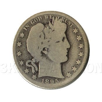 Early Type Barber Half Dollar 1892-1899 G-VG