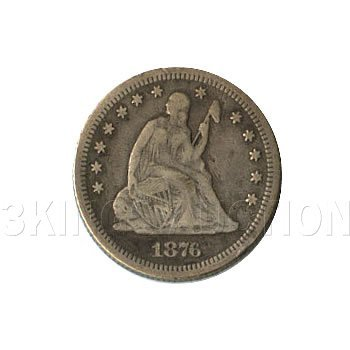Early Type Seated Quarter 1838-1891 G-VG