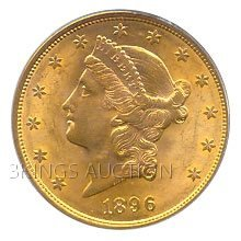 $20 Liberty Uncirculated Early Gold Bullion