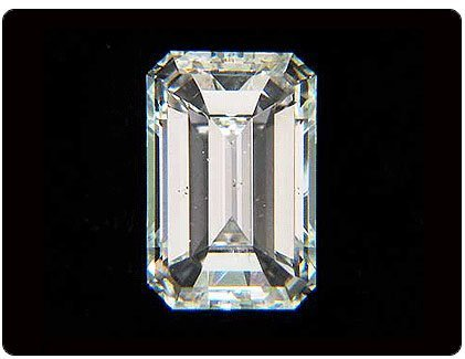 GIA CERTIFIED Emerald 0.51 Carat F,SI1