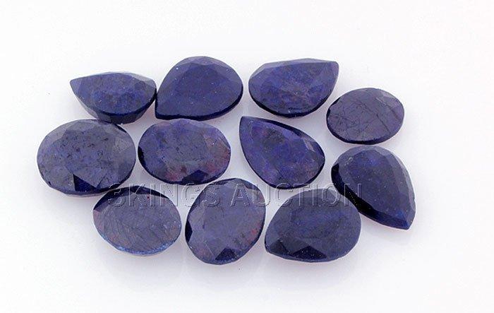 Blue Sapphire 155.98ctw MixShape&Sizes LooseGemstone